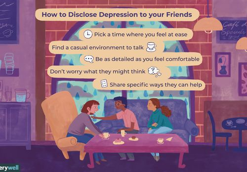 how to talk to friends about depression