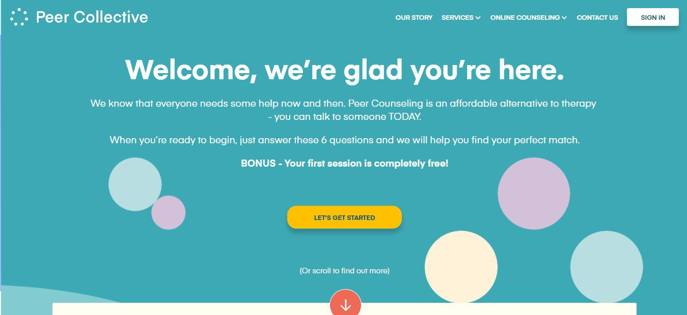 Peer Collective Homepage