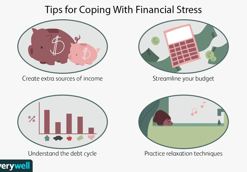 Tips for coping with financial stress