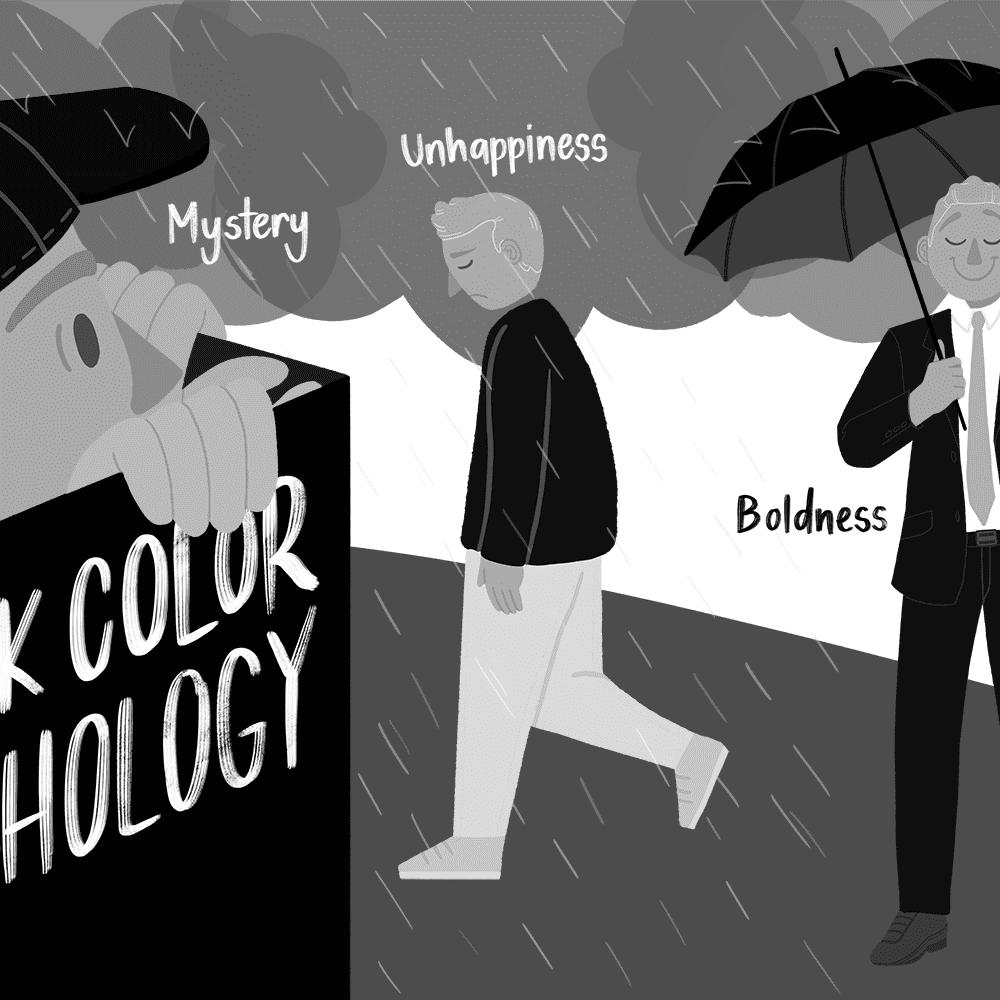 The Color Psychology of Black