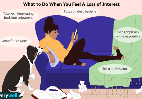 what to do when you feel a loss of interest
