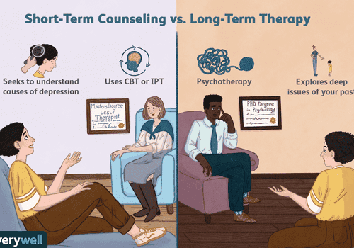 short term counseling vs long term counseling