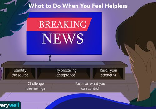 What to do when you feel helpless.