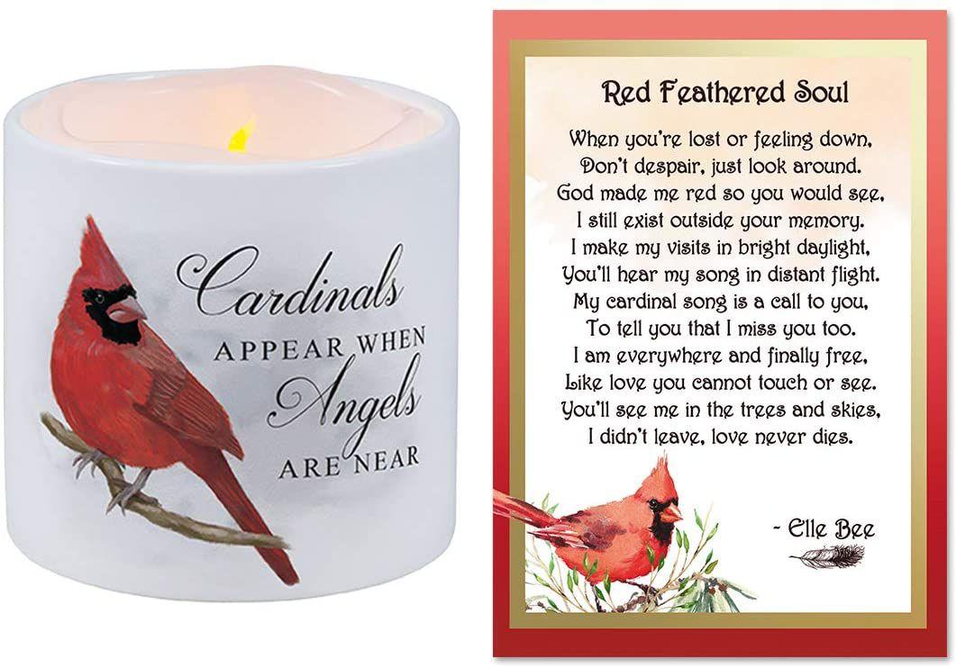 Cardinal Candle