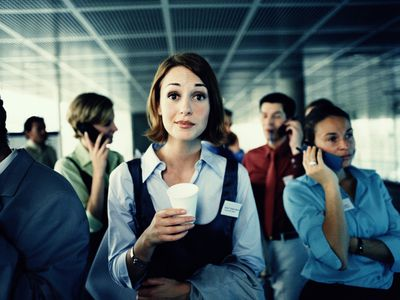 Survive your next office party despite social anxiety.