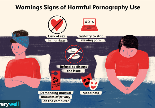 Warning signs of harmful pornography use