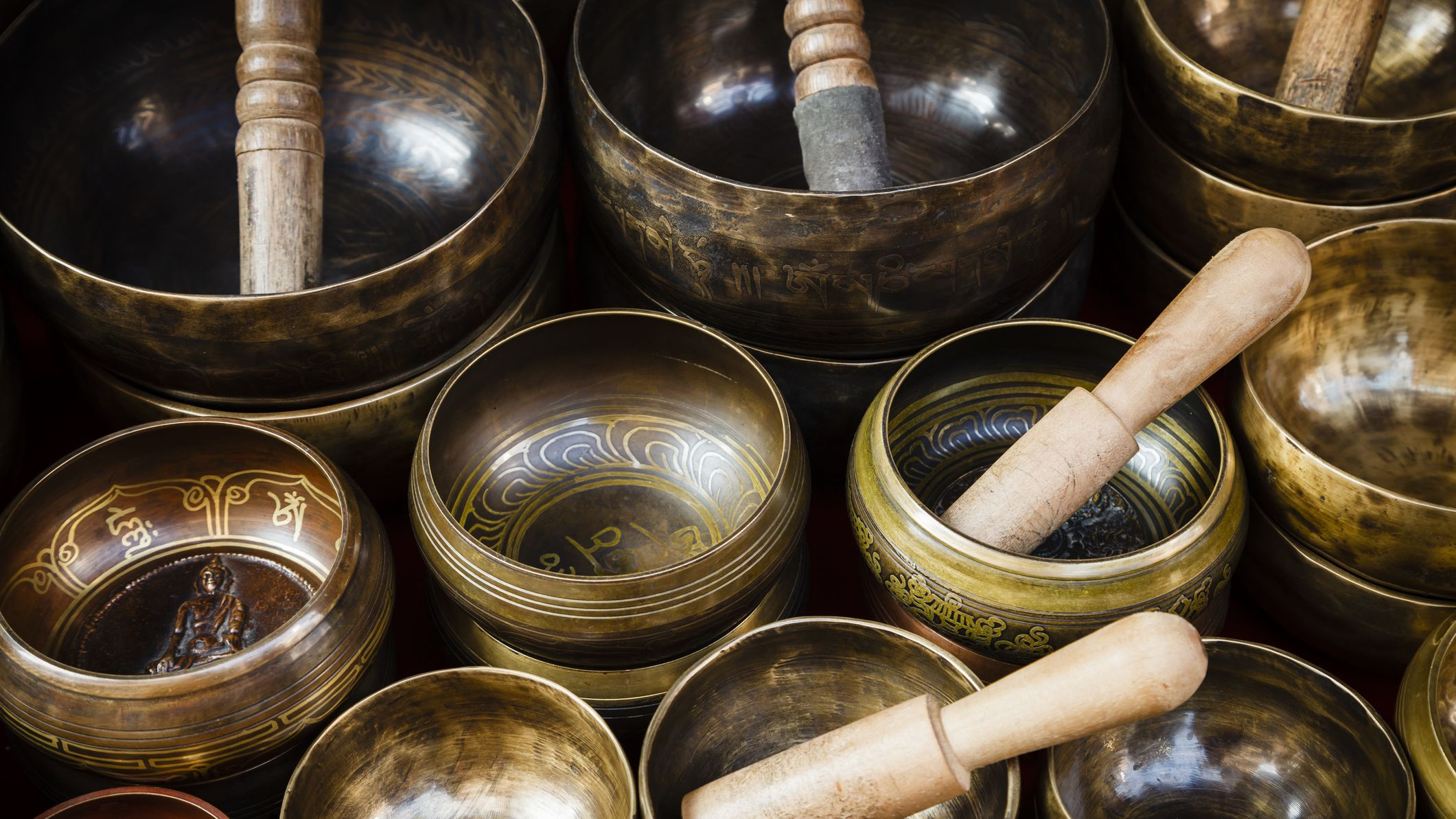 Using Tibetan Singing Bowls for Stress Relief