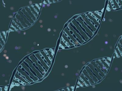 DNA-molecule illustration