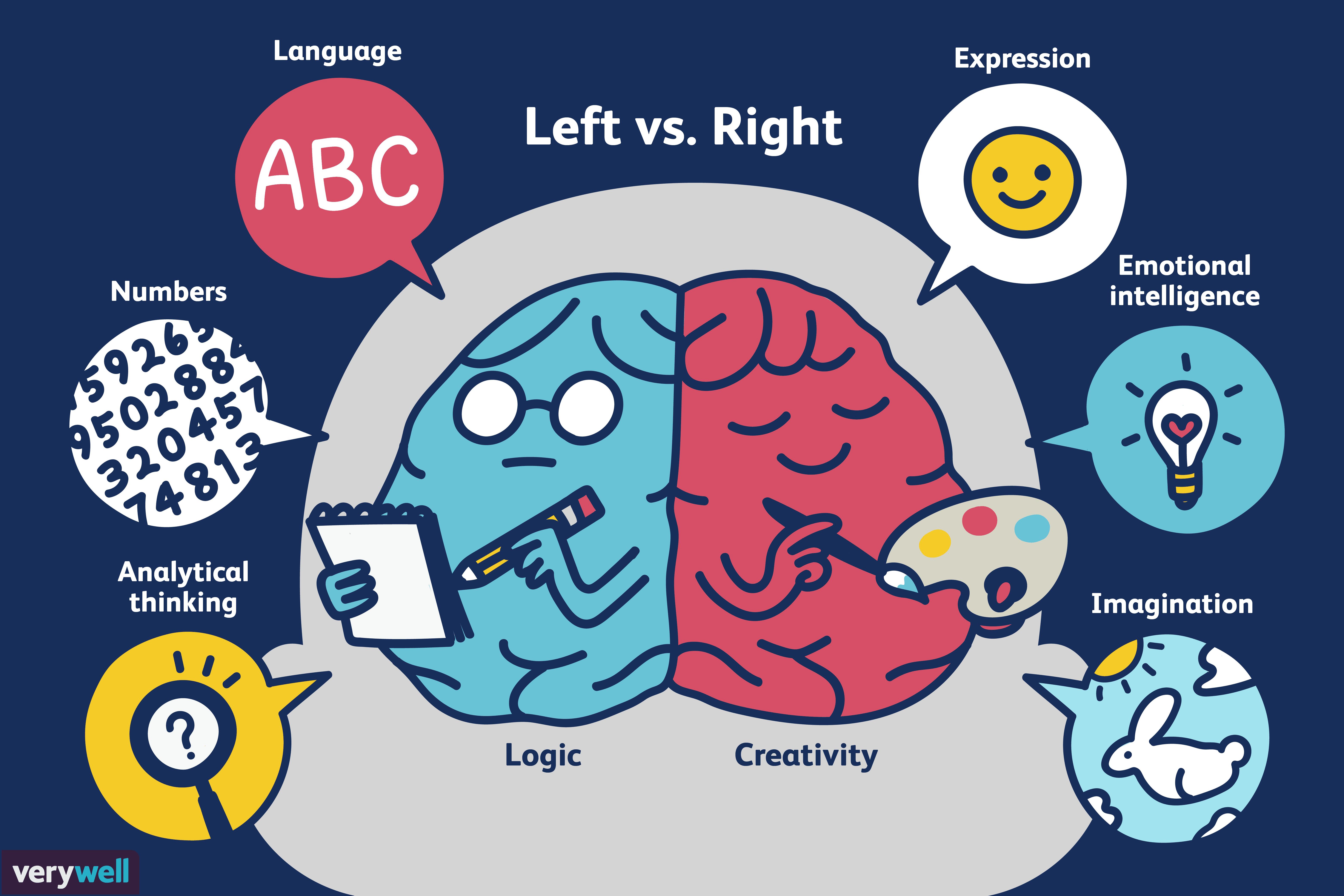 Left vs. Right Brain