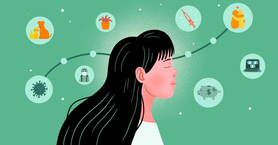 mental health tracker illustration