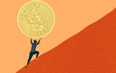 student loan illustration