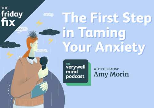 The first step in taming your anxiety
