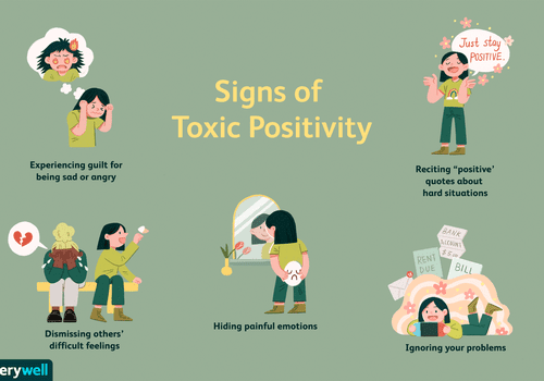 signs of toxic positivity