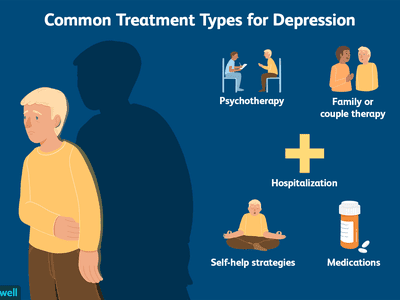Common types of treatment for depression