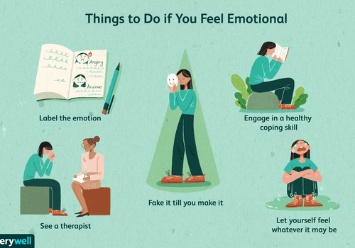 Things to do If you feel emotional