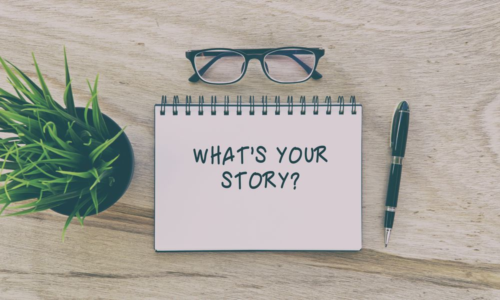 Narrative therapy helps us clarify our best story.