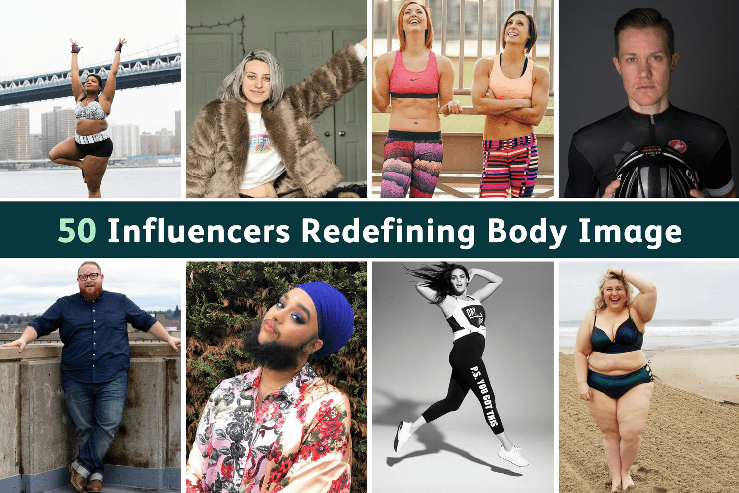 50 Body Positive Influencers You Should Follow