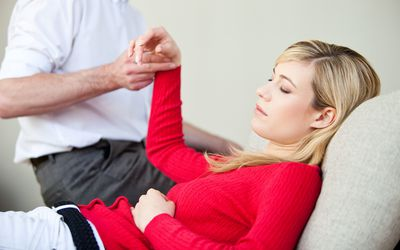 Hypnotherapy can be used to treat anxiety.
