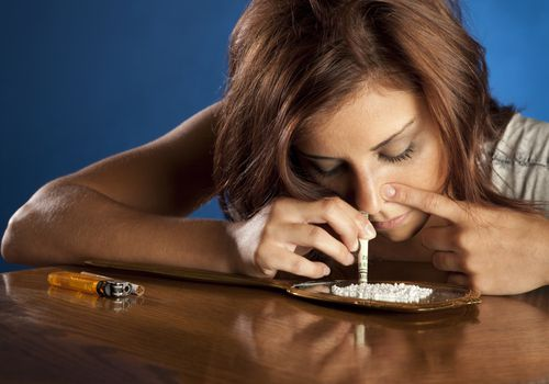 Mom Snorting Cocaine