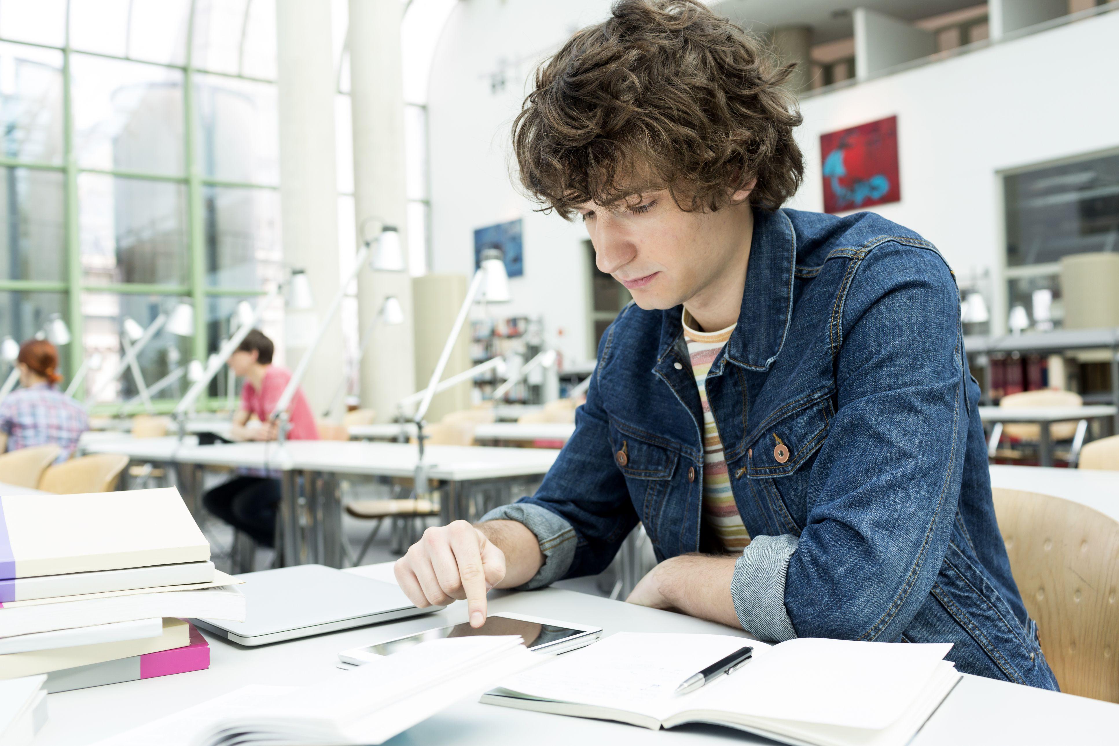 Perceptive student