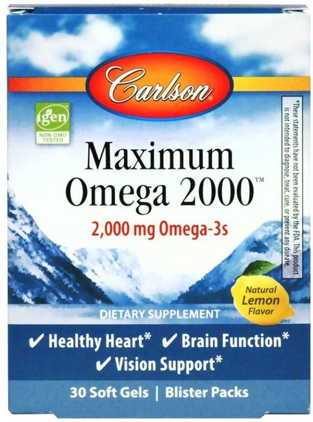 Carlson Maximum Omega 2000 Grab + Go Packs