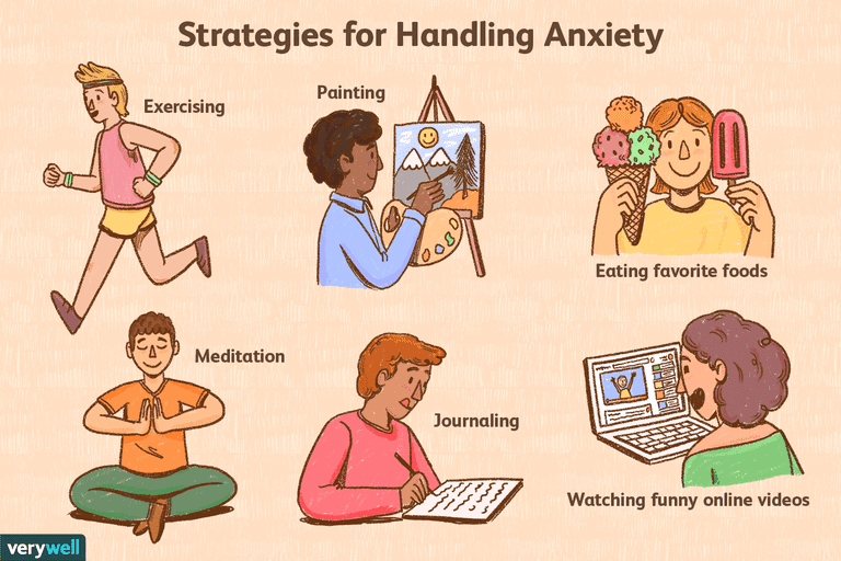 Strategies for handling anxiety