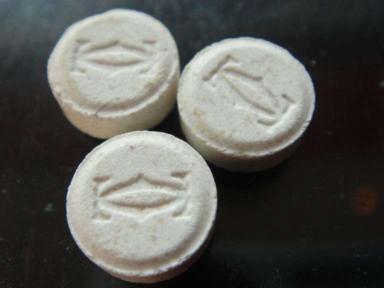 Ecstasy (MDMA) tablets white