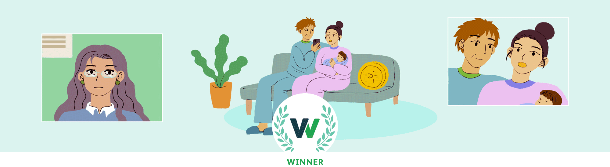 Online Therapy Awards New Parents