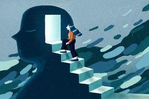 Future of mental health concept