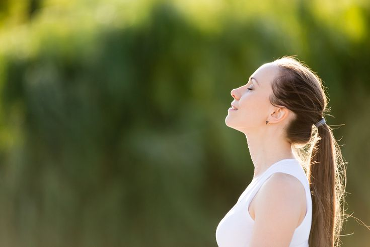 Breathing exercise algodystrophy