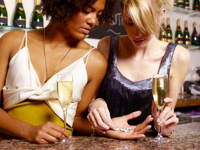 Women Taking Ecstasy
