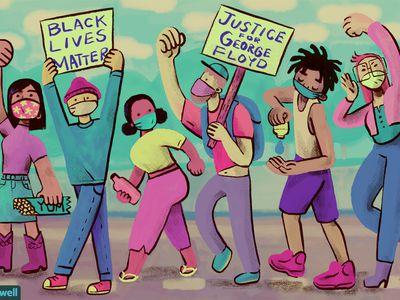 BIPOC protestors