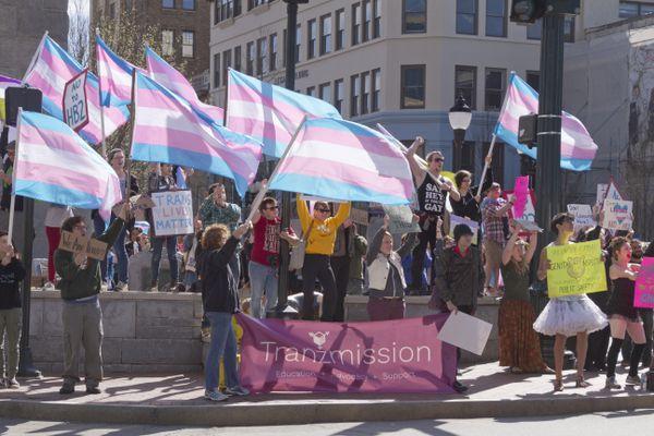 North Carolina Transgender Rally