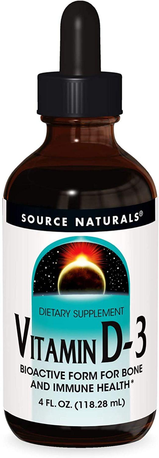Source Naturals Vitamin D-3 Liquid Drops