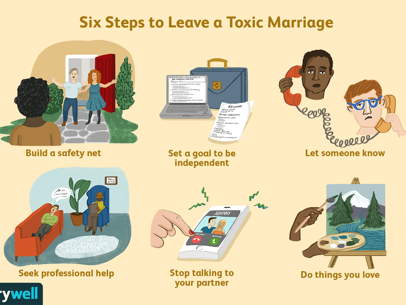 How to Leave a Toxic Marriage