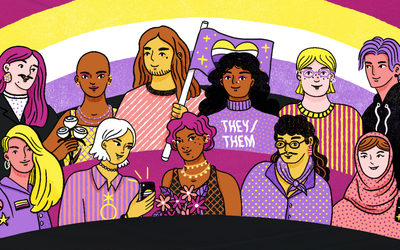 what is non-binary illustration
