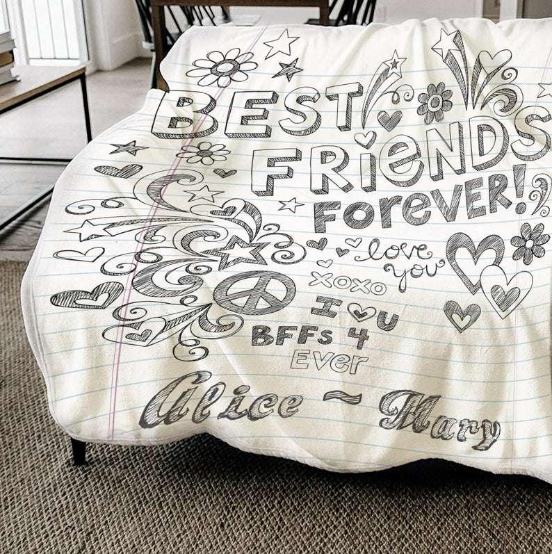Custom Bereavement Blanket