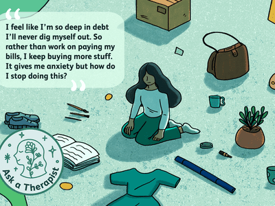 A reader asks about how to manage debt and anxiety.