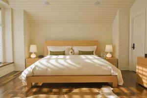 Feng Shui designed bedroom