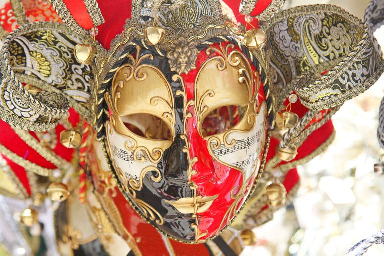Traditional venetian mask