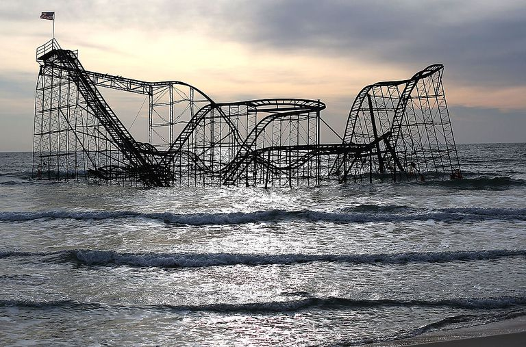 New Jersey Shore Still Heavily Damaged Months After Hurricane Sandy