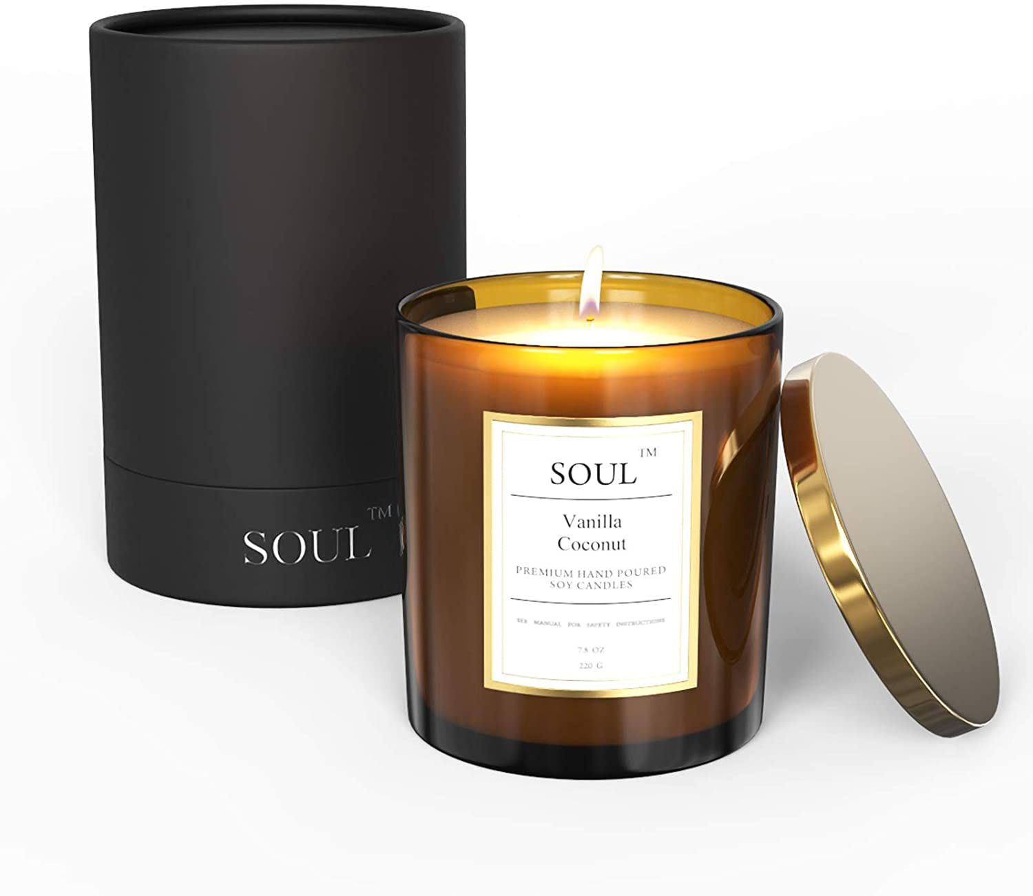 Soul Vanilla Coconut Aromatherapy Candle