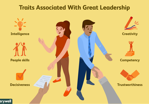 traits associated with great leadership