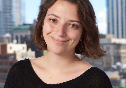 girl smiling professionally