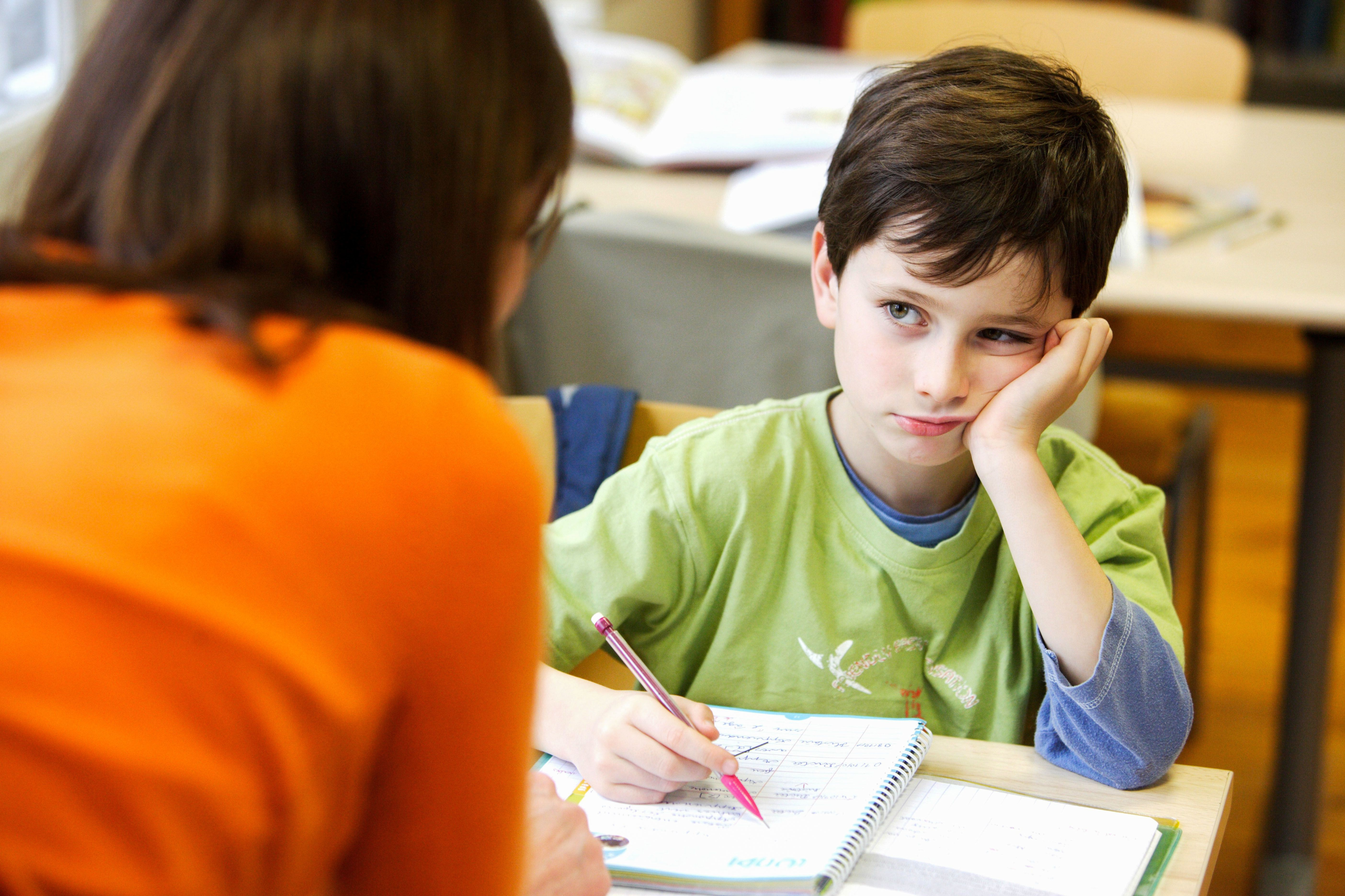 School psychologists work with chilren