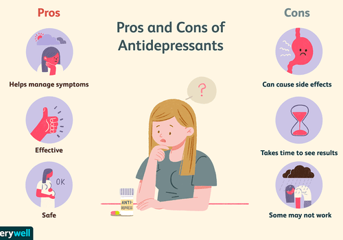 Pros and cons of antidepressants