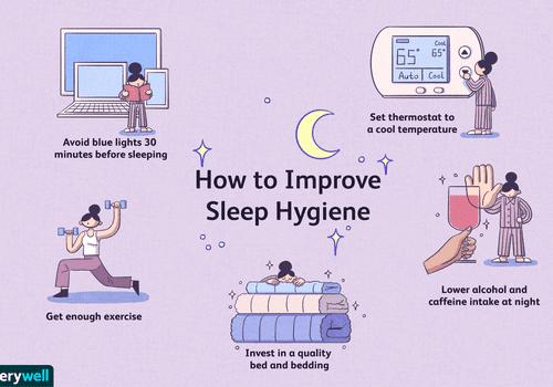 how to improve sleep hygiene