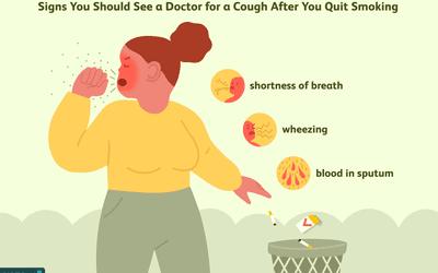 Coughing post-quitting-smoking
