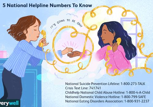 national helpline numbers to know