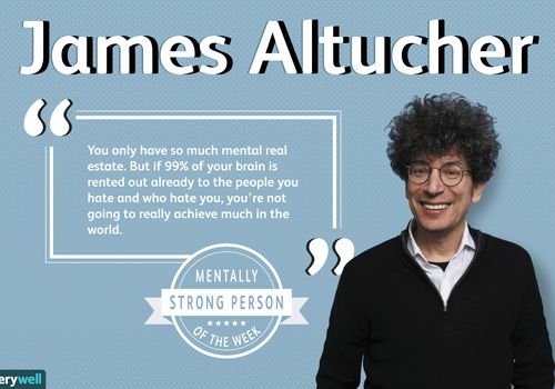 James Altucher is the mentally strong person of the week.